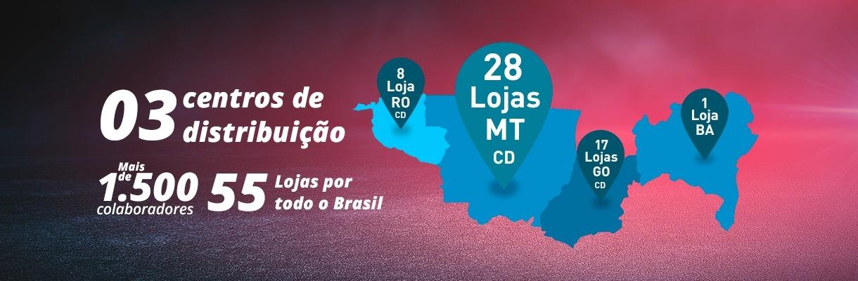 55 Lojas